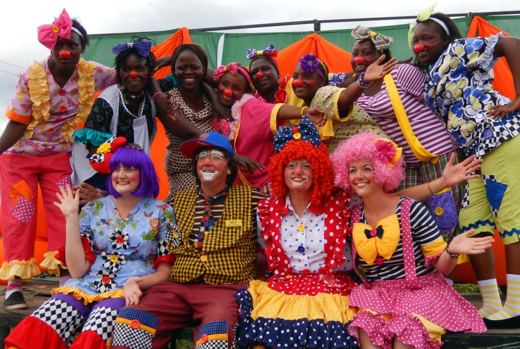 Polleys and Kenyan Clowns