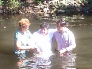Luis Is Baptized