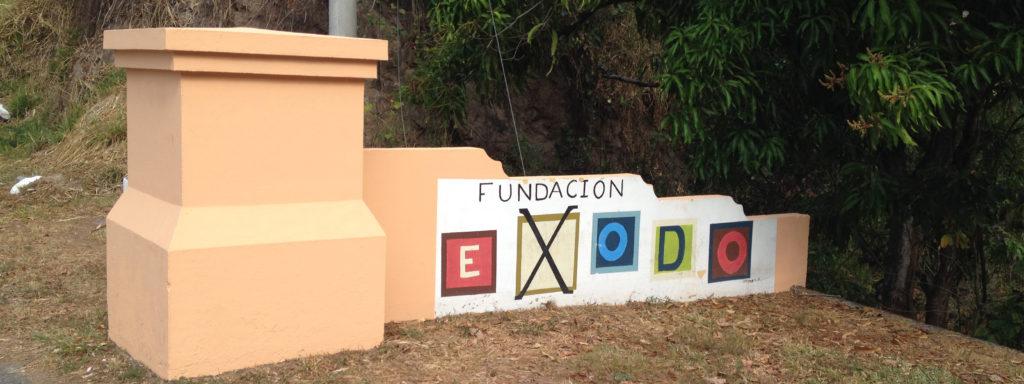 Fundacion Exodo sign